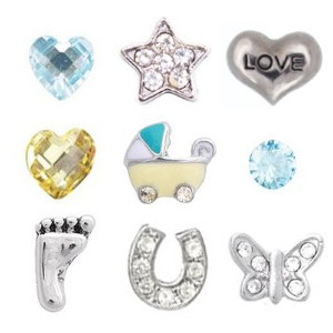 Totem Lockets | Floating Charms | Baby Boy Collection
