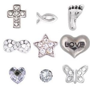 Totem Lockets | Floating Charms | Faith Collection