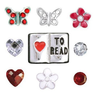 Totem Lockets | Floating Charms | Literacy Collection