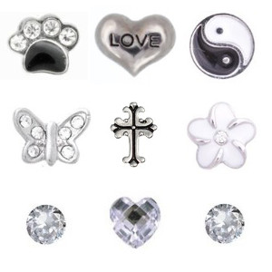 Totem Lockets | Floating Charms | Mono Collection
