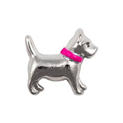 Floating Charm - Dog | Animal Charm| Animal Floating Charm | Totem Lockets | Floating Charm Lockets