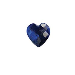 Accent Stone - Blue Heart | Accent Stone | Accent Stone Charm| Birthstone Floating Charm | Totem Lockets | Floating Charm Lockets