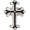 Floating Charm - Gothic Cross | Faith Charm| Faith Floating Charm | Religious Charm| Religious Floating Charm | Totem Lockets | Floating Charm Lockets