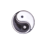 Floating Charm - Yin Yang | Faith Charm| Faith Floating Charm | Religious Charm| Religious Floating Charm | Totem Lockets | Floating Charm Lockets