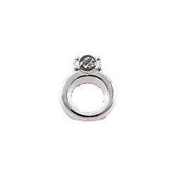 Floating Charm - Engagement Ring | Gold | Love Charm| Love Floating Charm | Totem Lockets | Floating Charm Lockets