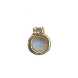 Floating Charm - Engagement Ring | Silver | Love Charm| Love Floating Charm | Totem Lockets | Floating Charm Lockets