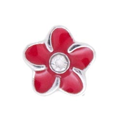 Floating Charm - Flower | Nature Charm| Nature Floating Charm | Totem Lockets | Floating Charm Lockets